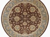 9 Foot Round area Rug Kaleen Mystic Agean Brown 9 Ft X 9 Ft Round area Rug