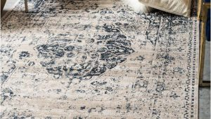 Abbeville Blue Cream area Rug Abbeville Dark Blue Cream area Rug