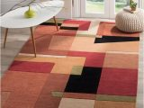 Abstract area Rug for Sale Shop Safavieh Handmade Rodeo Drive Modern Abstract Rust