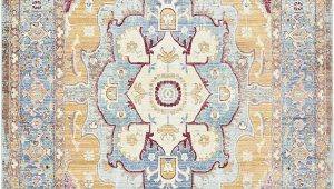 Acord Blue area Rug Unique Loom Chord Austin Contemporary Geometric area Rug or Runner Walmart