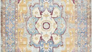 Acord Blue area Rug Unique Loom Chord Austin Contemporary Geometric area Rug or Runner Walmart