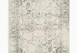 Aiken Ivory Silver area Rug Adirondack Abstract Ivory Silver area Rug