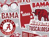 Alabama Crimson Tide area Rug Ig & Vsco Cambreyjohnson