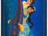 Aladdin Magic Carpet area Rug Blue Green Yellow area Rug
