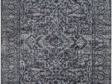 Aleyna Gray Ivory area Rug Ranck Distressed Gray area Rug