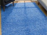 Amazon area Rugs 8×10 Blue Malibu Collection Modern Shaggy area Rug 8 X 10 Blue