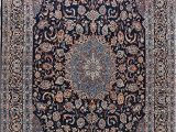 Amazon Prime Large area Rugs Amazon 10×14 Navy Blue oriental Floral area Rug