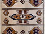 American Indian Style area Rugs Rugs 4 Less Collection southwest Native American Indian area Rug Design In Beige Berber Sw3 5 X7