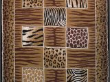 "Animal Print area Rug 5×7 5×7 La Rugs Black Animal Print Zebra area Rug 12 009 Black Aprx 5 3"" X 7"