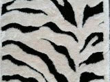 Animal Print area Rug 5×7 5×7 Zebra Rug