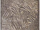 Animal Print area Rug 5×7 Giorno Animal Print Brown