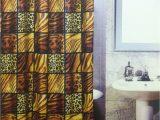 Animal Print Bath Rugs 5pcs Bath Rug Set Leopard Print Bathroom Rug Shower Curtain