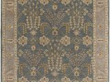 Ann and Hope area Rugs Henriksen Hand Tufted Teal area Rug