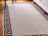 Ann and Hope area Rugs Unique Loom athens Geometric Casual area Rug 5 0 X 8 0 Beige Brown