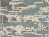 Aqua and Cream area Rugs Nourison Lido Lid03 Cream Aqua area Rug