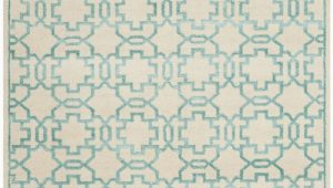 Aqua and Cream area Rugs Safavieh Mosaic Mos152b Cream Aqua area Rug