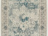 Area Rug 5×7 Blue Distressed area Rugs 8×10 Cream Blue Rug 5×7 Livin In Home
