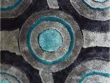 Area Rug 5×7 Blue Gray Blue Contemporary 5×7 area Rug