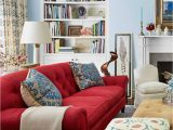 Area Rug for Red Couch 10 Ideas that Will Make You Fall In Love with A Red sofa 3
