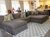 Area Rug for Sectional Couch Making Sectional Slipcovers Homesfeed