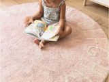 Area Rug for toddler Girl Abc Nursery Rugs Round Kids Rug Circle Alphabet Rug Kids
