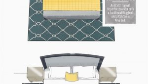 Area Rug for Under King Bed Tips Design by Numbers