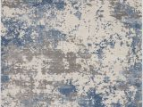 Area Rug Gray Blue Nourison Rustic Textures Rus08 Grey Blue area Rug