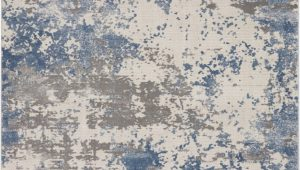 Area Rug Grey Blue Nourison Rustic Textures Rus08 Grey Blue area Rug