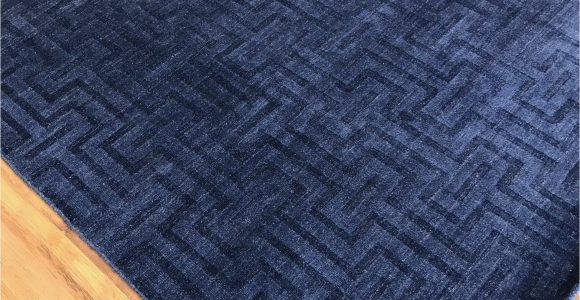 "Area Rug Royal Blue Artisan 9 9"" X 7 9"""