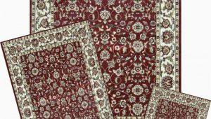 Area Rug Set Of 3 area Rugs Set Mat Runner area Rug 3 Piece Set Floral Border Carpet