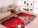 Area Rug Slips On Carpet Amazon Merry Christmas 3d area Rug Non Slip Doormat
