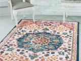Area Rug Slips On Carpet Details About Multi Color Vintage Medallion oriental Transitional area Rug Non Slip Backing