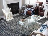 Area Rug to Go with Gray Couch New Indigo Blue Rugs In Our Living Room and Kitchen
