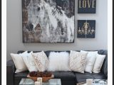 Area Rug to Go with Gray Couch Rustic Glam Living Room New Rug Setting for Four