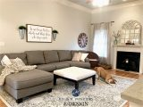 Area Rug with Gray Couch Sherwin Williams Agreeable Gray In Living Room with Gray