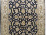 Area Rugs 10 Feet by 12 Feet Amazon Merorug Black Color Art Design Nepali Hand