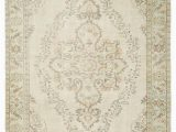 """Area Rugs 30 X 45 Beige Over Dyed Turkish Vintage Rug 6 5"""" X 10 2"""" 77 In"""