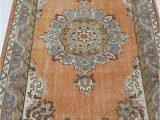 Area Rugs 30 X 48 4 by 6 Rug Vintage Oushak Rug Vintage Rug Oushak area Rug Turkish Vintage Rug Oushak Rug area Rug Kitchen Rug Boho Rug Low Pile Rug
