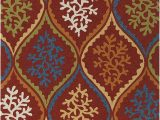 "Area Rugs 60 X 90 Amazon Chandra Rugs Terra area Rug 90"" X 60"" Red Blue"