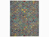 Area Rugs at Raymour and Flanigan Vibrant 8 X 11 area Rug Teal Raymour Flanigan