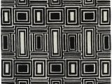 Area Rugs Black and White Pattern Eli