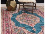 Area Rugs by Bungalow Rose Bungalow Rose Lonerock Turquoise Pink area Rug In 2019
