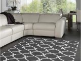 Area Rugs for Gray Floors Dark Gray and White area Rug Love This Color Bo with
