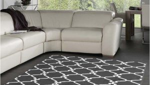 Area Rugs for Grey Floors Dark Gray and White area Rug Love This Color Bo with
