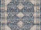 Area Rugs for High Traffic areas Morvant Low Pile Blue area Rug
