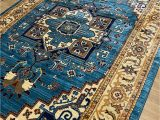 Area Rugs for Sale On Ebay Antep Rugs oriental Wave Collection Polypropylene area Rug Blue Ivory