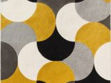 Area Rugs Gold and Gray Helena Power Loom Gold Gray Black Rug