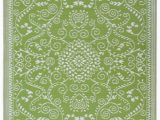 Area Rugs Green and Cream Amazon Murano Lime Green & Cream 3 X 5 Patio