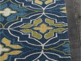 Area Rugs Green and Cream Terra Collection Hand Tufted area Rug In Blue Green Yellow