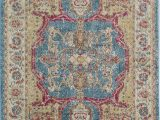 Area Rugs Green Bay Wi Avenue Vintage Transitional Blue Gold area Rug